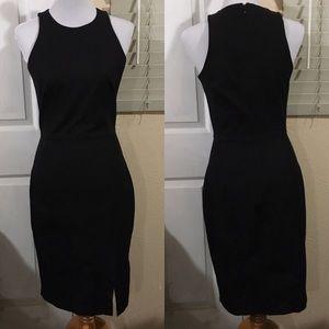 NWT Banana Republic black bodycon dress